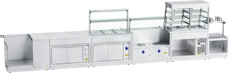 Тепловая витрина-прилавок ABATПВТ-70Х-02 - 5