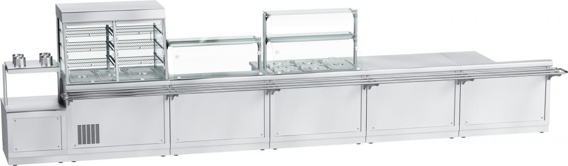 Прилавок для столовых приборов ABAT ПСП-70Х - 4
