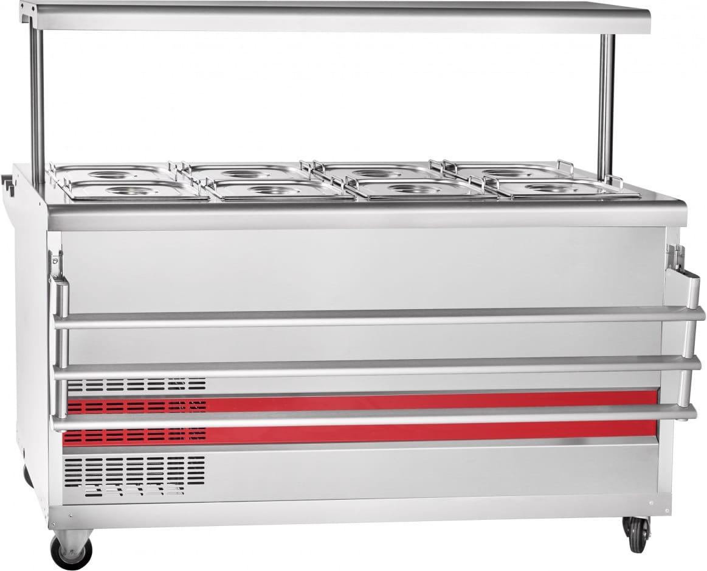 Холодильный прилавок ABAT ПВВ(Н)-70ПМ-01-НШ - 1