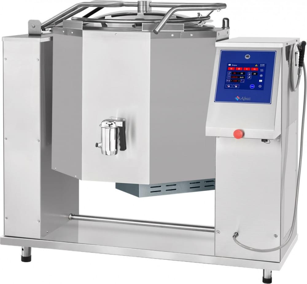 Пищеварочный котёл ABATКПЭМ-160-ОМП сосливнымкраном - 1