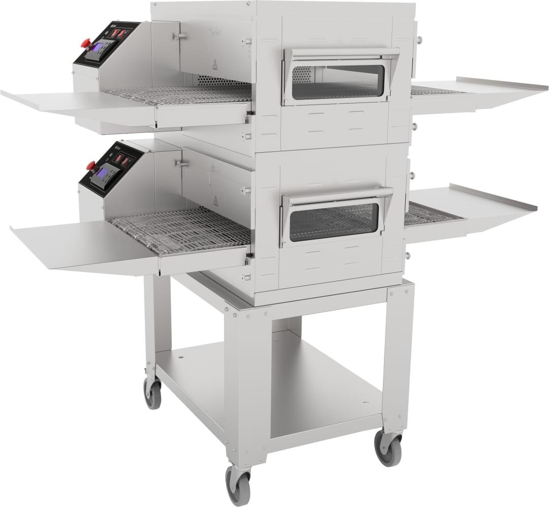 Печь для пиццы ABATПЭК-400 с дверцей безоснованияикрыши - 2
