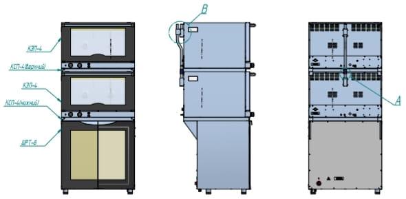 Соединительный комплект ABAT КСП-4 - 2