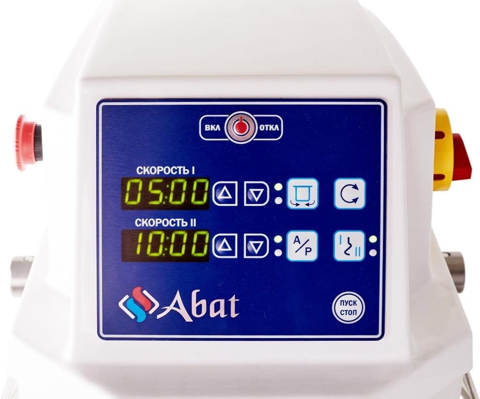 Спиральный тестомес ABATТМС-120НН-2П CHEF - 2