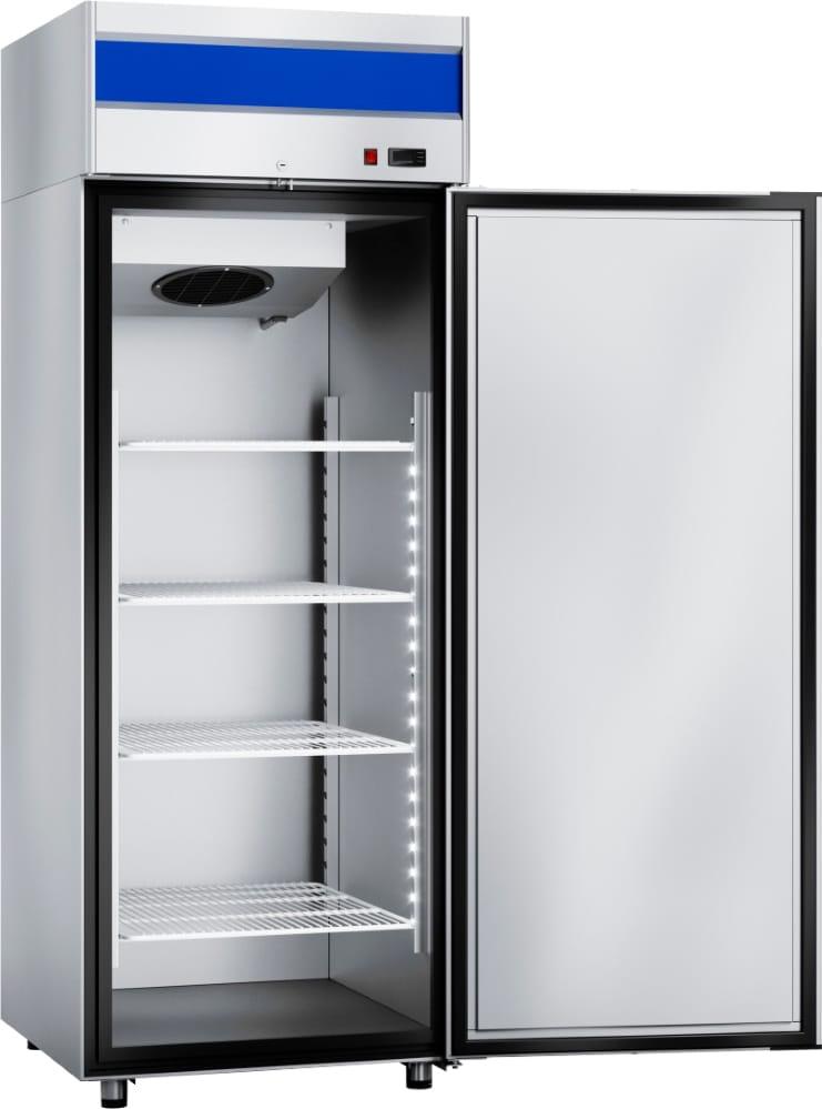 Морозильный шкаф ABATШХн-0,5-01нерж. (верхнийагрегат) - 1